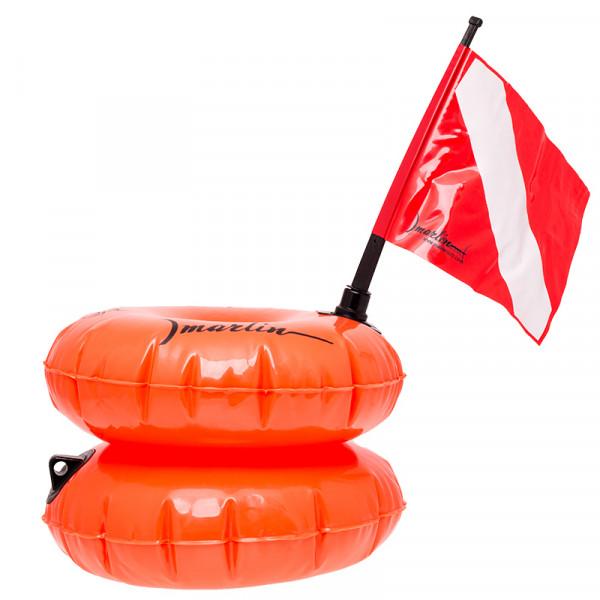 MARLIN Marker Safety Buoy Twin Orange
