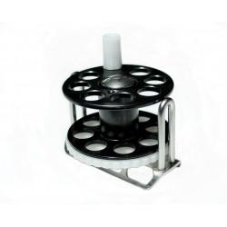 Spearfishing Speargun Reels Pelengas Stanless Steel Plastic Black-White