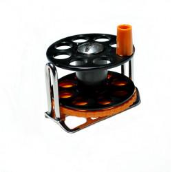 Spearfishing Speargun Reels Pelengas Stanless Steel-Plastic Black orange