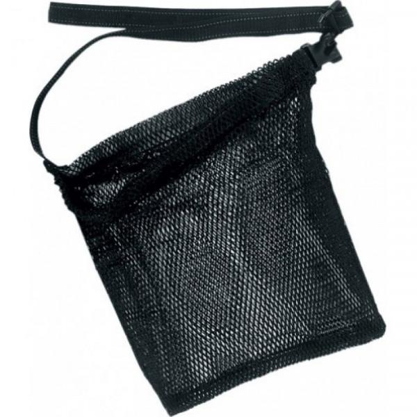 Bag SALVIMAR fish net, belt, black